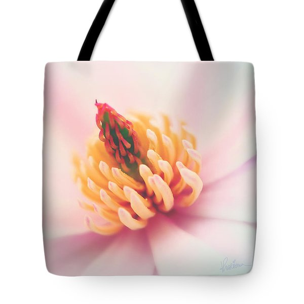 Magnolia Crown Tote Bag