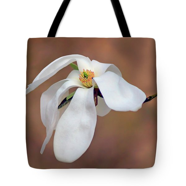 Tote Bag featuring the photograph Magnolia Grace by Nikolyn McDonald