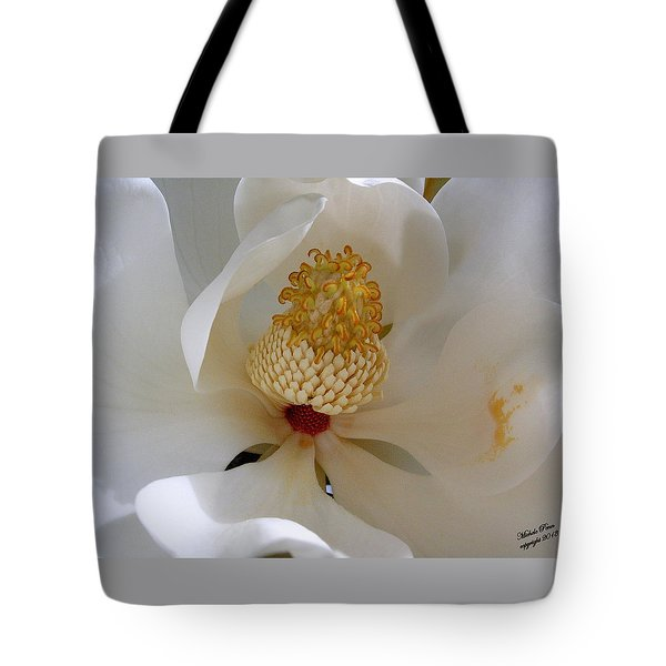 Magnolia Happiness Tote Bag