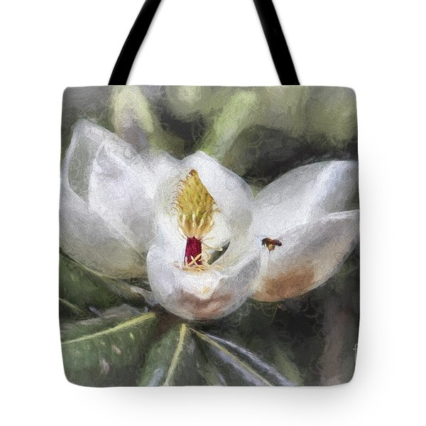 Magnolia Harvest Tote Bag