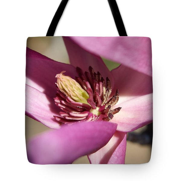 Tote Bag featuring the photograph Magnolia by Heidi Poulin