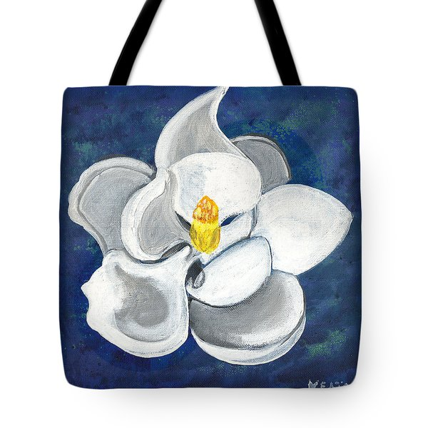 Magnolia Tote Bag by John Keaton
