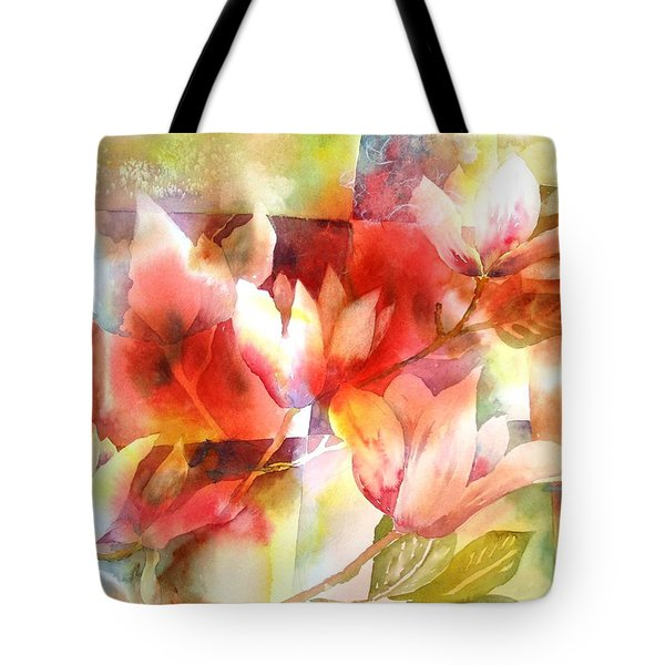Magnolia Magic Tote Bag