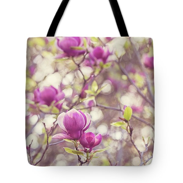 Magnolia Tote Bag by Melanie Alexandra Price