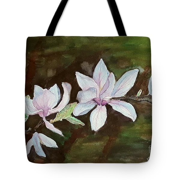Magnolia - Painting  Tote Bag