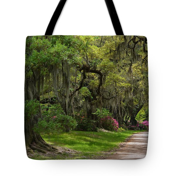 Magnolia Plantation And Gardens Tote Bag