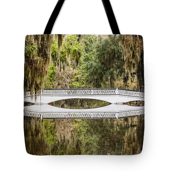 Magnolia Plantation Gardens Bridge Tote Bag