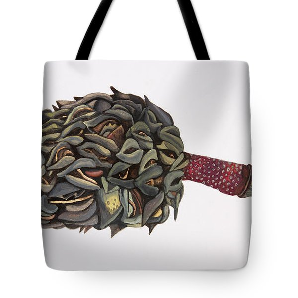 Magnolia Seedpod Tote Bag