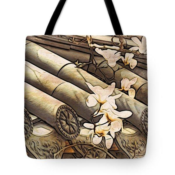 Magnolia Tiles Tote Bag