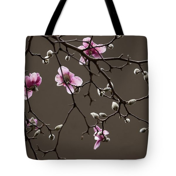 Tote Bag featuring the photograph Magnolias In Bloom by Rob Amend