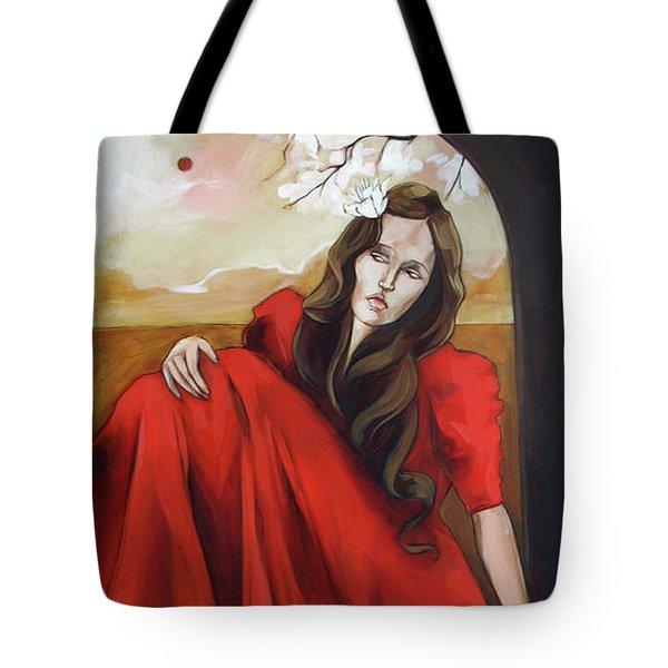 Magnolia's Red Dress Tote Bag