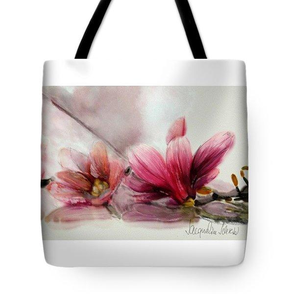 Magnolien .... Tote Bag