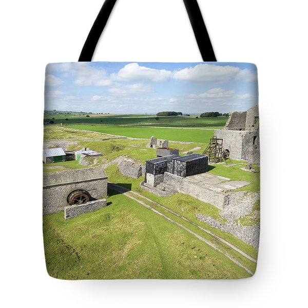 Magpie Mine 2 Tote Bag by Steev Stamford