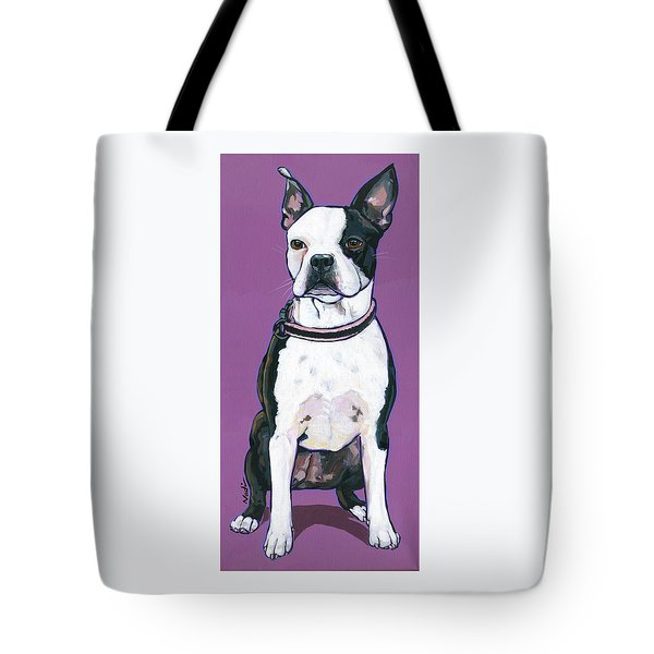 Tote Bag featuring the painting Magpie by Nadi Spencer