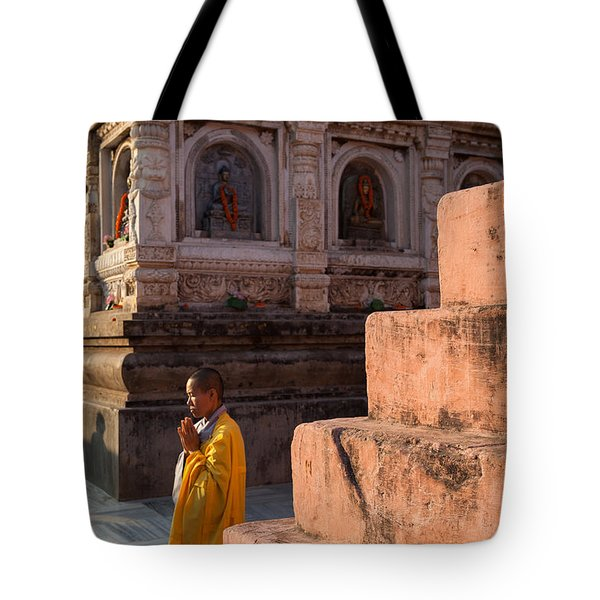 Mahabodhi  Tote Bag