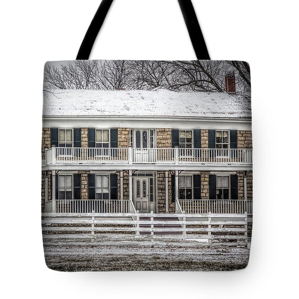 Mahaffie Stagecoach Stop Tote Bag