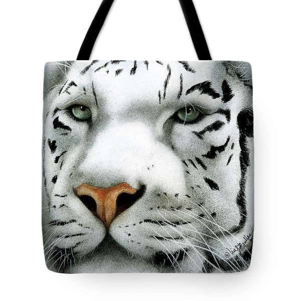 Tote Bag featuring the painting Maharajah ... by Will Bullas
