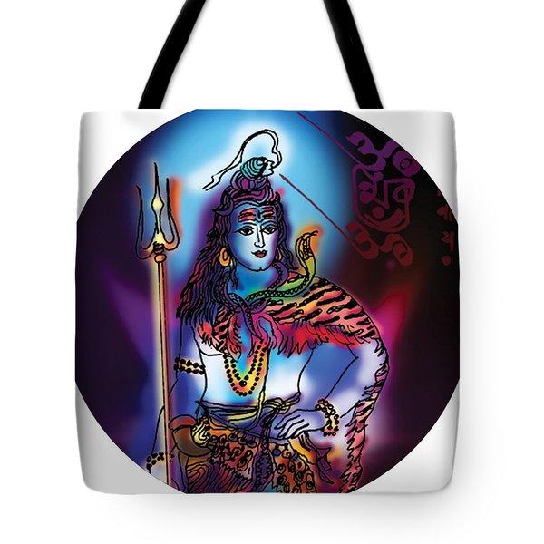 Maheshvara Shiva Tote Bag