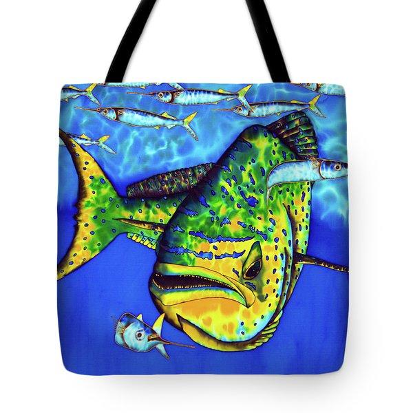 Mahi Mahi And Ballyhoo Tote Bag