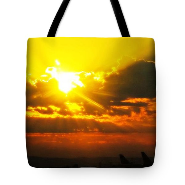 Mahlon Sweet Sunset Tote Bag