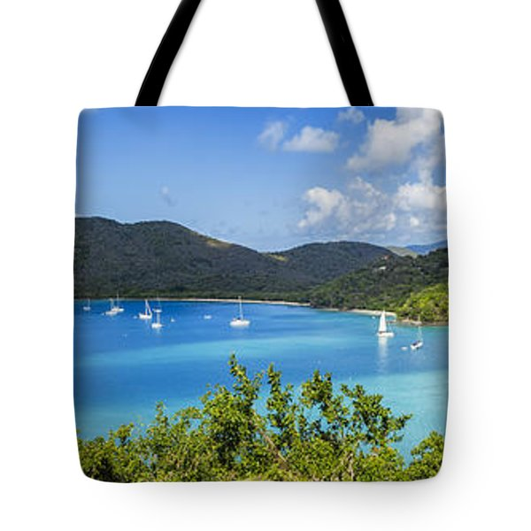 Tote Bag featuring the photograph Maho And Francis Bays On St. John, Usvi by Adam Romanowicz