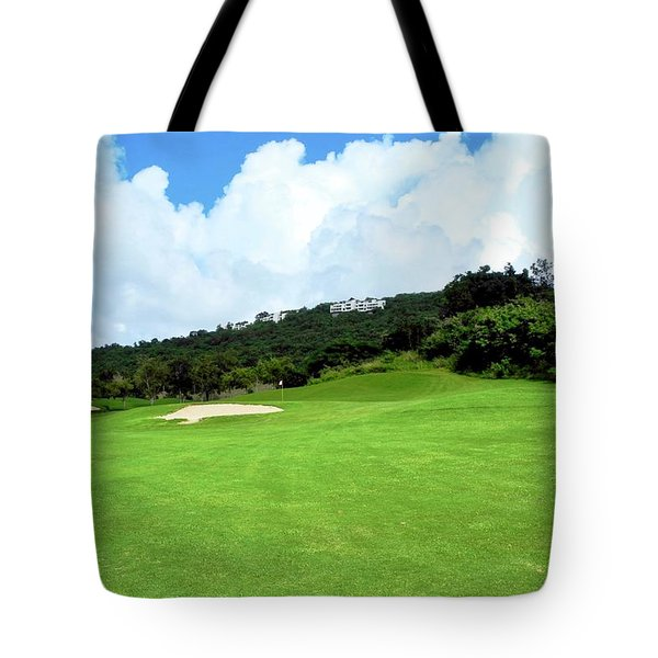 Mahogany Run Fairway Tote Bag