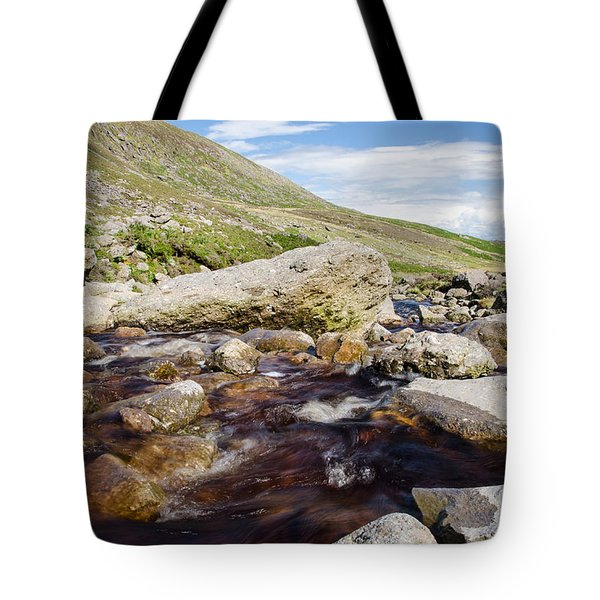 Mahon Falls And River Tote Bag by Martina Fagan
