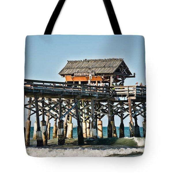 Mai Tiki Bar - Cocoa Beach Pier - Florida Tote Bag