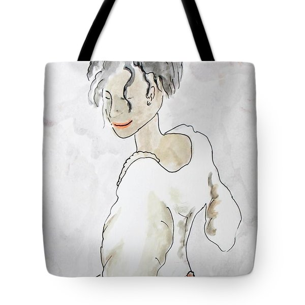 Maid Tote Bag by Keshava Shukla