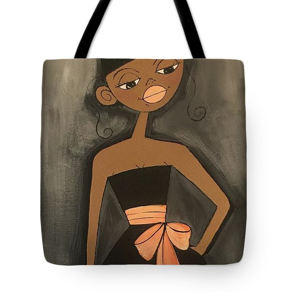 Maid Of Honor Black Dress Tote Bag