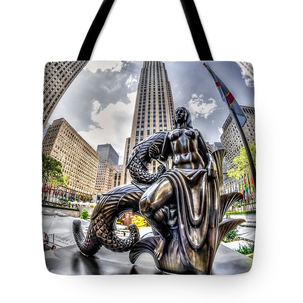 Maiden Tote Bag by Rafael Quirindongo