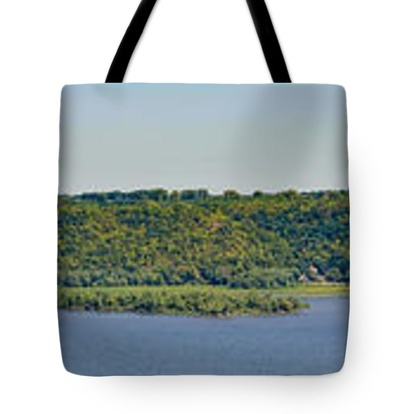 Tote Bag featuring the photograph Maiden Rock, Wi by Dan Traun