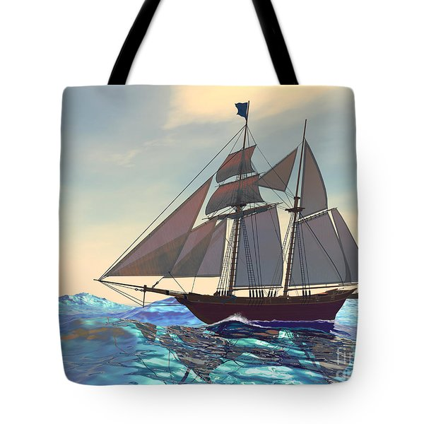 Maiden Voyage Tote Bag by Corey Ford