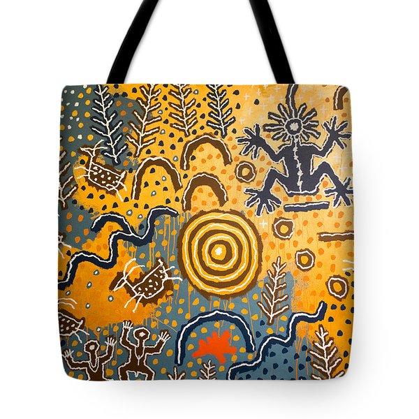 Maidu Creation Story Tote Bag