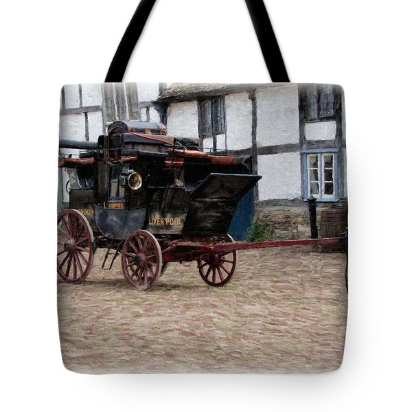 Mail Coach At Lacock Tote Bag