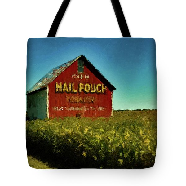 Mail Pouch Barn P D P Tote Bag by David Dehner