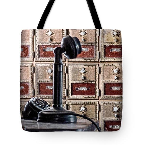 Mailbox 237 Tote Bag