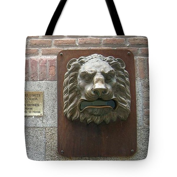 Mailboxes In Toledo Spain Tote Bag by Valerie Ornstein