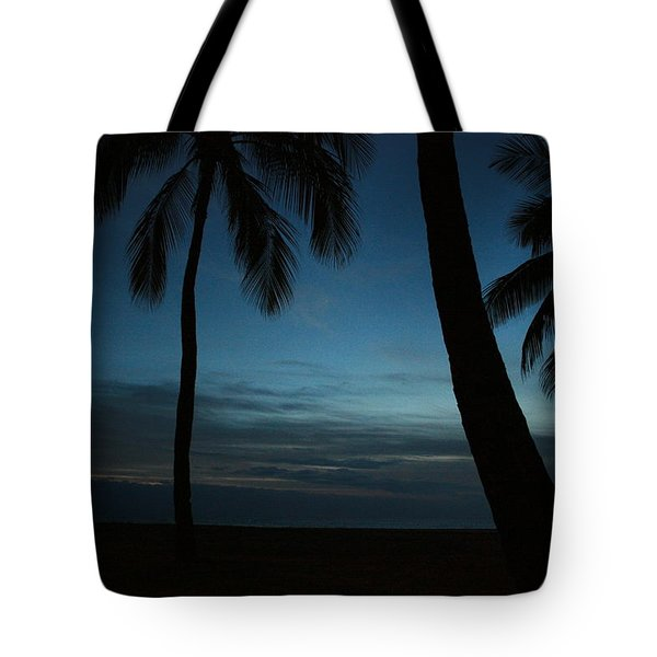 Ma'ili Beach After Sunset Tote Bag