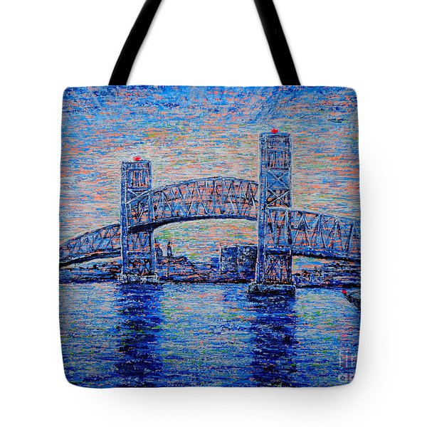 Main St.bridge,#2 Tote Bag