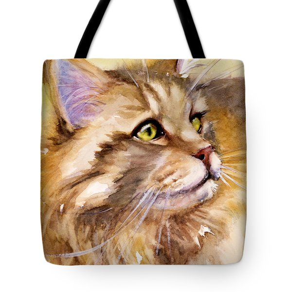 Main Coon Tote Bag