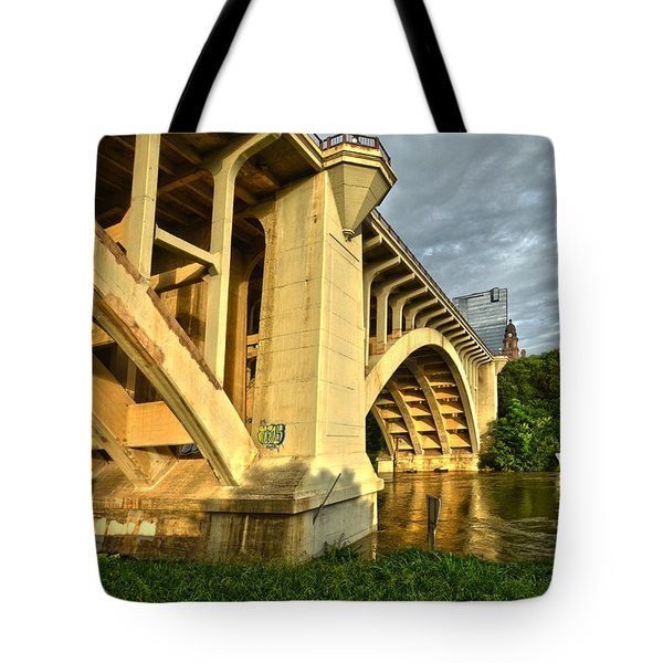 Main St Bridge Tote Bag