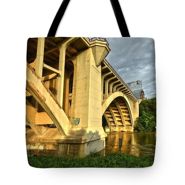 Main St Bridge Tote Bag