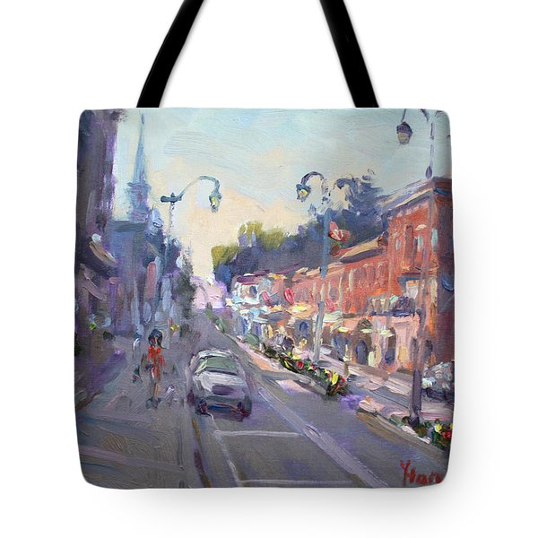 Main St Georgetown Downtown  Tote Bag