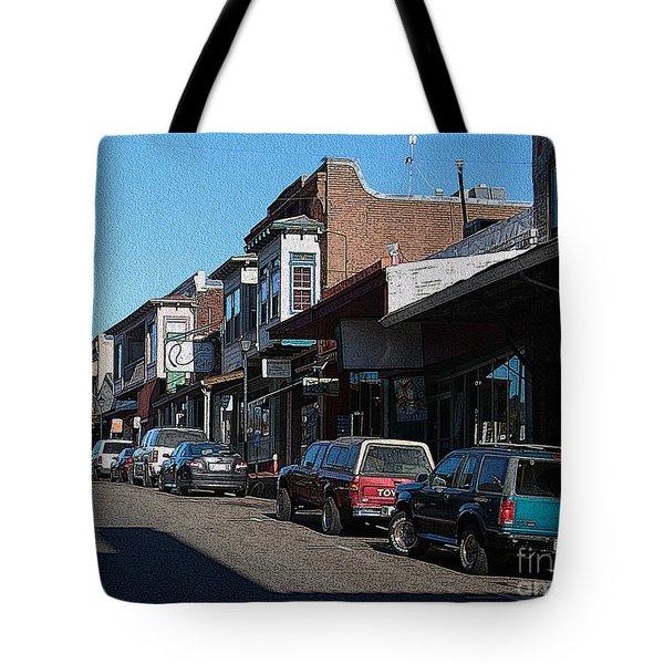 Main Street Jackson City Tote Bag
