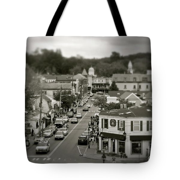 Main Street, Port Jefferson, Ny Tote Bag