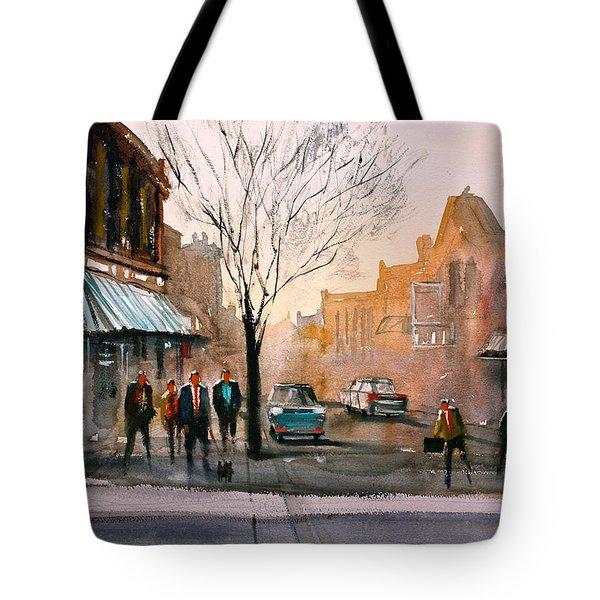 Main Street - Steven's Point Tote Bag by Ryan Radke