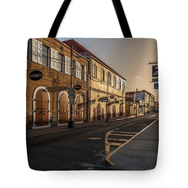 Main Street Sunday Tote Bag
