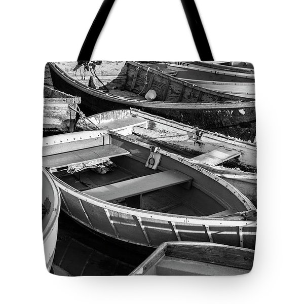 Maine Boats Tote Bag