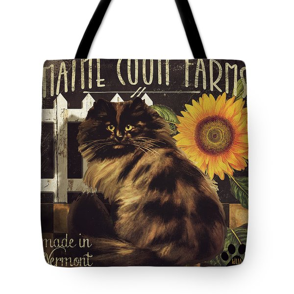 Maine Coon Farms Tote Bag